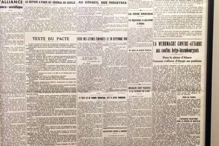 Le Monde First Issue 1944