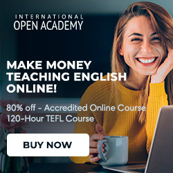 Teach English Online or Abroad! Accredited TEFL/ TESOL/ for 15€ or $15
